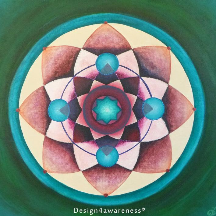 Heart & Throat Chakra by Wieteke Koolhof